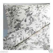 Ikea Alvine Kvist Twin Duvet Cover & 2 Pillow Cases White Gray 401.596.44