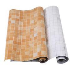 1 Roll Kitchen Self-adhesive Foil Stickers Waterproof Anti-oil Wall Paper - DD