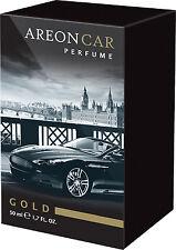Lufterfrischer Areon LUX Parfüm Gold 50ml. Duftbaum Autoduft Perfume