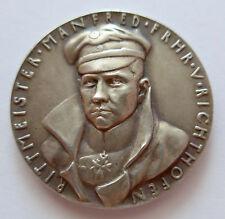 Original Médaille K. Goetz 1928 Freiher V.Richthofen- 89 Lieu 80 Abschüsse
