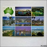 Australia's Capital Cities Postcard (B) (P486)