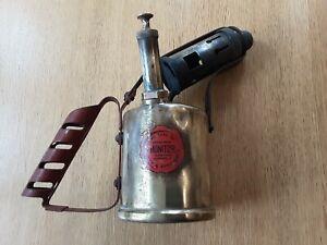 Vintage Monitor No. 26 - Brass Blow Torch / Lamp - Paraffin Burner