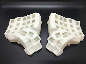 Dactyl-Manuform Keyboard Shell 4x5 - With Base Plate - 3D printed