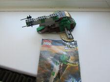 VINTAGE LEGO STAR WARS 7144 SLAVE I   100% COMPLETE