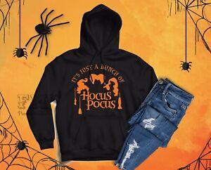Unisex Halloween Hocus Pocus Hoodie Jumper,Halloween Costume, Christmas Gifts UK