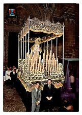 Sevilla Spain Postcard Semana Santa Ntra Sra de Ica Dolores Santa Cruz Unposted