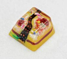 Jelly Key Confectionery Woods Keycap (Liquorice Stream). Cherry profile