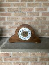 Hand Carved Mantle Clock