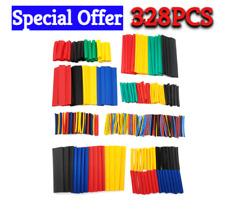328pcs Heat Shrink Tubing Assortment Set 21 Multi Color 8 Size