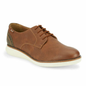G.H. Bass & Co. Mens Randell WX Synthetic Leather Casual Oxford Sneaker Shoe
