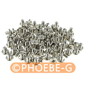 """1000 pcs #6-32 x 3/16"""", 6/32 x 5mm Phillips Pan Head Screw for 3.5"""" HDD PC Power"""