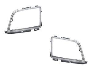 Mercedes r129 Headlight Doors L+R (x2) URO PARTS head lamp light frame trim rim