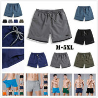 Mens Sports Training Bodybuilding Summer Shorts Workout Fitness GYM Shorts Pants