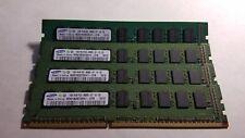 Samsung 4GB(4X1GB) PC3-8500 DDR3-1066MHz ECC Unbuffered CL7 240-Pin DIMM S-RK