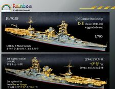 Rainbow 1/700 Rb7059 IJN Aircraft Battleship Ise for Fujimi