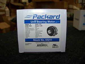 Packard Unit Bearing Motor 115V 4Watt 1550Rpm 0.29Amp