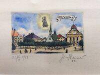 Josef Steiner 1899 – 1977 Radierung datiert 1945 nummeriert signiert