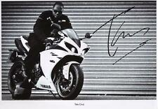 TAIO CRUZ AUTOGRAPHED SIGNED A4 PP POSTER PHOTO