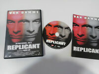 REPLICANT DVD + EXTRAS VAN DAMME RINGO LAM CASTELLANO ENGLISH REGION 2