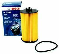 GENUINE BOSCH OIL FILTER F026407006 fits Vauxhall Corsa D 1.0, 1.2, 1.4 & 1.6 VX