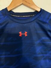 under armour compression shirt Heat Gear Two Tone Blue Size M