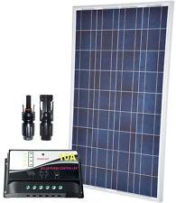 Photovoltaic 12V 100W Module + 10A Solar Charger + MC4 Connectors #30200116