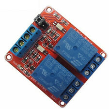 5V 2 Channel Relay Module with Optocoupler and High/Low Level Trigger