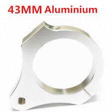43 mm ALU STEERING DAMPER Fork Cadre De Montage Pince Support Pour Moto