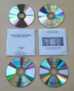 MANIC STREET PREACHERS The Holy Bible 2014 UK numbered promo test 4-CD set