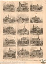 Centennial Exposition International Exhibition of Arts Philadelphia PRINT 1876
