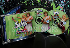 2005 THE SIMS 2 UNIVERSITY EXPANSION PACK W/ CODE zombies npc 2-disc cd-rom PC