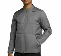 Nike Men's Golf Jacket Gray Small Reversible 932309 036 NEW With Tags