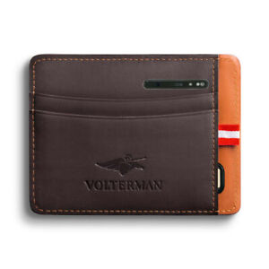 Volterman Cardholder Brown - Latest Version of Cardholder (Fast Shipping)
