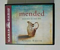 "Oasis Audio ""Mended - Pieces of a Life Made Whole"" Angie Smith God Religious CD"