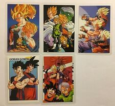 Dragon Ball Z Rami Card Amada Part 94 0394G Set 5/5