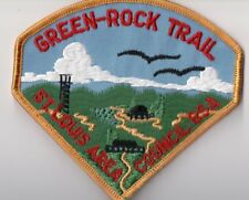 BSA Patch, Green-Rock Trail, St. Louis, Missouri patch, Crisp Mint