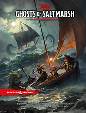 Dungeons & Dragons GHOSTS OF SALTMARSH Wizards of the Coast 5E DND