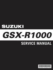 Suzuki GSX-R 1000 Service Repair Workshop Maintenance **PDF** Manual 2009 - 2011