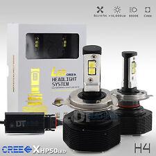 100W CREE LED 9003/H4 Headlight Conversion Kit Hi/Low Beam Bulbs 6000K White