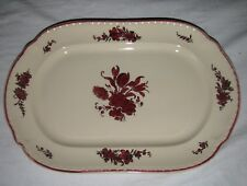 VILLEROY & BOCH serving platter AURORA early 1900s HAND PAINTED
