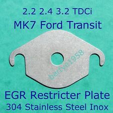 EGR Valve blanking plate MK7 TRANSIT 2.2 2.4 3.2 TDCi Land Rover Some Taxi's SSH