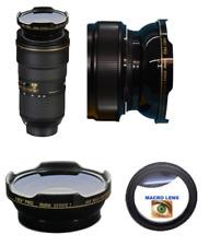 HD3 FISHEYE LENS + MACRO LENS FOR Nikon AF-S NIKKOR 24-70mm f/2.8E ED VR Lens