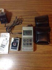 AM-3500 Laser Precision Power Meter Kit Hand Held Fiber Optic w/Manual & Power
