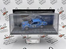 """DIE CAST """" ALPINE RENAULT A310 RMC 1978 J. THERIER """" PASSIONE RALLY 1/43"""