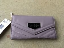 Jessica Simpson French Lilac Jenita Tri Fold Wallet 10th Anniversary Edition NWT