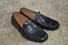 Ralph Lauren black leather moccasins loafers size US10