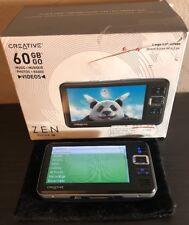 Creative ZEN Vision W 60gb Video/FM/MP3/CF PMC-HD0004