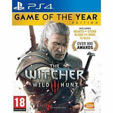 The Witcher 3 Wild Hunt Edición Juego del Año PS4 Playstation 4 Nuevo