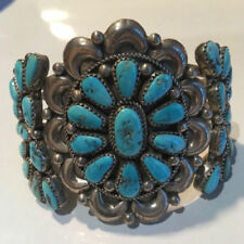 Less than 18cm Turquoise Sterling Silver Fine Bracelets