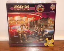 (NEW SEALED) LEGENDS OF THE SILVER SCREEN LEGENDARY CROSSROADS HOLLYWOOD PUZZLE